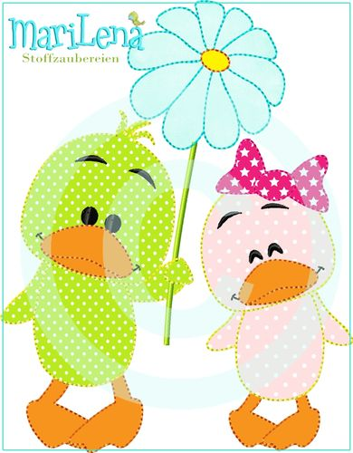 ♥ LoveDucks ♥ Appli 13x18