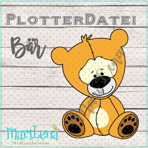 Cut file Bear