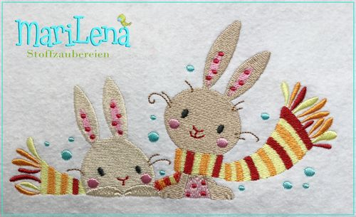 ♥ CoolBunnys  ♥ Filled 5x7""