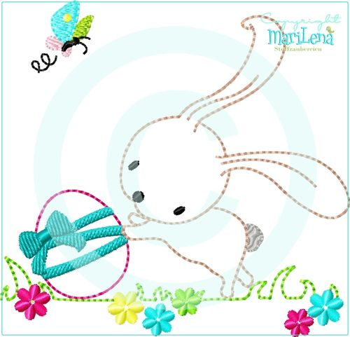 ♥ EasterRabbit 1  ♥ Appli 10x10