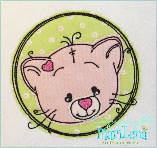 Kitten DoodleButton Appli 10x10