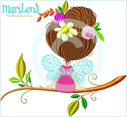 ♥ Spring Fairy 2  ♥ Filled 5x7""