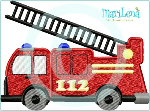 Fire engine 112 filled design