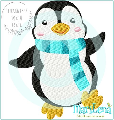 Pinguin 1 filled design