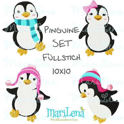 Penguin SET filled design