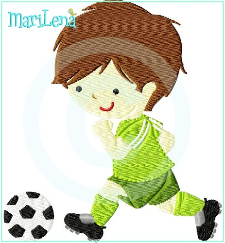 Soccer Player footballer filled design