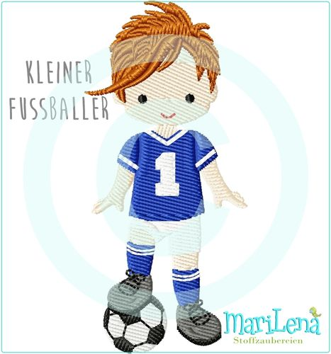 Soccer player 3 filled design
