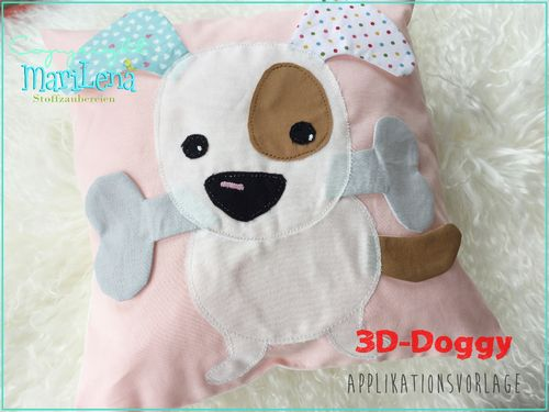 3D-Doggy Appliqué Pattern