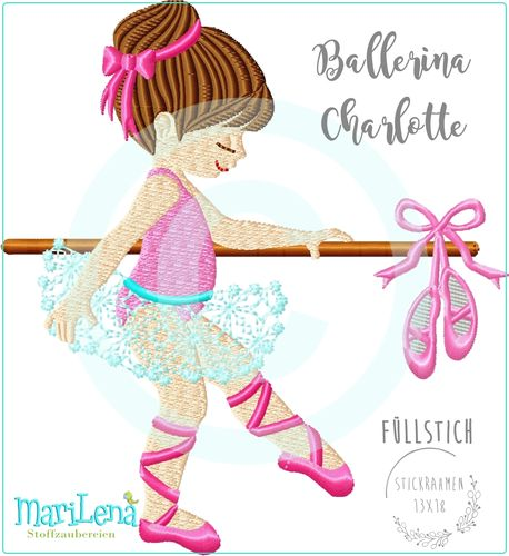 Ballerina Charlotte filled design